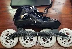 Playlife Performance Inline Speed Skates Size EU 39/US 7