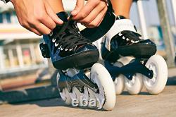 Playlife Youth Powerslide Performance Inline Speed Skates Glass-Fiber Heat EU