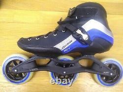 Powerslide Powerskating R4 Trinity Inline Speed Skates Rollerblades size 12