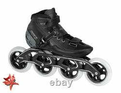 Powerslide R4 110 Adult Inline Speed Skates UK 7