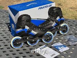 Powerslide R6 Inline Speed Skates Triskates Rollerblades Size 13M