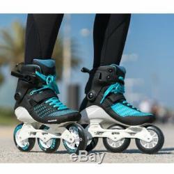 Powerslide Swell Aquamarine 100 3 Wheel Inline Fitness Speed Skates Men's