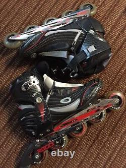 ROCES 5-wheel Inline SPEED Skates Racing Roller Blades Men's Size US 15