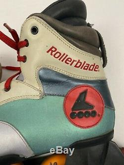 ROLLERBLADE problade vintage 90s 1993 speed racing inline skates sz 44 10.5