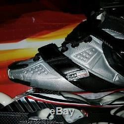 Roces LAB 4 x 100 mm Speed Distance Inline Skates Mens 7-7.5 Womens 8-8.5 40 NEW
