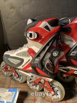 Rollerblade Crossfire TFS 4D inline skates speed used Mens 8.5