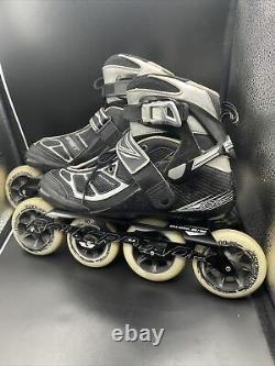 Rollerblade Mens Tempest 90/100 In-line Speed Skates Size 9 Max Wheel 100mm