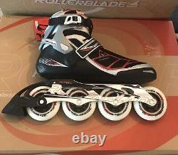 Rollerblade Tempest Mens Size 12 Brand New In Box 90mm Inline Speed Skate