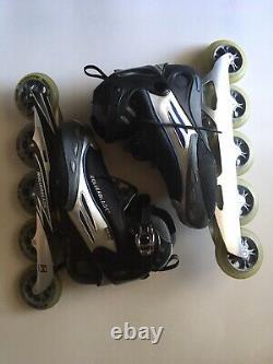 Rollerblades Inline Speed Skates Professional Lite 5 Wheel Womens Size 6.5