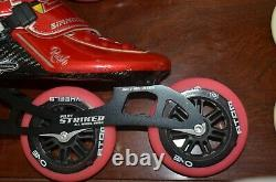 Simmons Rana Rush Inline Speed Skates (boots) Youth (good Condition)