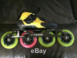 Size 5 Luguino Strut inline speed skates
