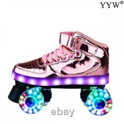 Skates Roller Shoes Sneakers Hockey Inline Speed Rollers Men Women 4-Wheels DHL