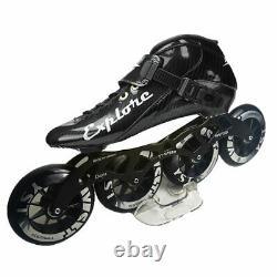 Speed Inline Skates Carbon Fiber Competition Skate Street Racing Skating SH56