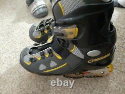 Talon Forward 6000 Inline Skates Rollerblades ABEC 5 Speed Bearings Adult size 8