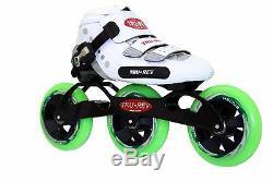 90mm wheels Size 8 In-line Speed Skates by Trurev