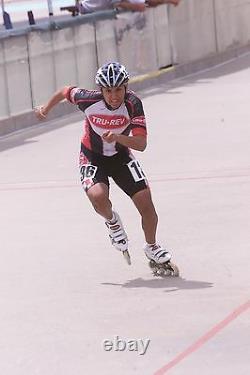 TruRev Professional 100mm Inline Speed Skate Frame. Super light