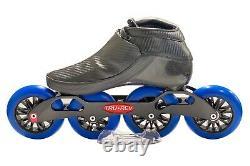 Trurev Carbon Fiber Pro Inline Speed Skate 4 Wheel Switch Blade Frame