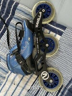 USED Vanilla Carbon Inline Speed Skates