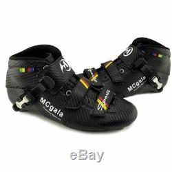 Upper Boots Professional Marathon Street Road Inline Speed Skates Shoes Carbon