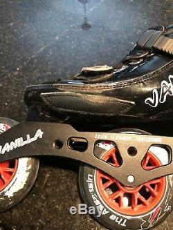 VANILLA inline speed skates (assassin) Size 3 Youth