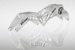 VICTORY V-TEC FRAMES 3X125 12.6 195/165mm Inline Speed Skate Frame Silver