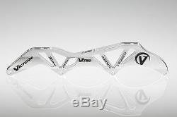 VICTORY V-TEC FRAMES 4X110 13.2 195mm Inline Speed Skate Frame Silver