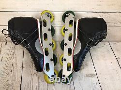 VINTAGE Riedell 201 TS Inline Speed Skates 9 Roller Blades Hyper/la Beda Wheels