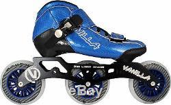 VNLA Carbon Inline Competitive Speed Skates Blue Men Size 1-13