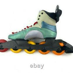 VTG 90s Rare Rollerblade Problade Mens Inline 5-wheel Speed Skates Sz 42 US 9