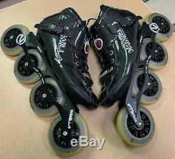 Vanilla 7000 Carbon (Size M 10 / L 11) Speed Inline Skates Black NICE