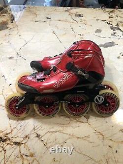 Vanilla 7000 Series Boot Inline Speed Skates Men's Size 11