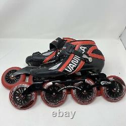 Vanilla Assasin Carbon Boot Inline Speed Skates Men's Size 8 Blackmail 4x110mm
