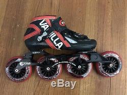 Vanilla Blackmail In-line Speed Skate Size 6