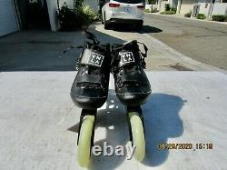 Vanilla Carbon Competitive Inline Speed Skates Black Size 3 men-4 Lady New