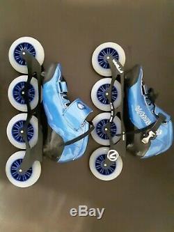Vanilla Carbon Speed Inline Skates Men Size 7