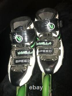 Vanilla Green Machine Speed Inline Skates