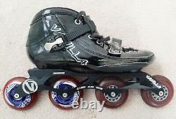Vanilla Inline Speed Skates and extra wheelset men's size 10