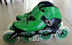 Vanilla VNLA Carbon Inline Speed Skates Size 7/8