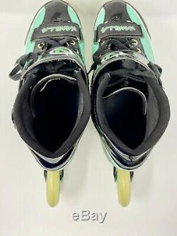 Vanilla VNLA Empire Inline Speed Skates Size 10, Very Good Condition