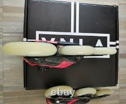 Vanilla luigino Speed Inline Skates Rollerblades Carbon Sz. 2 110mm wheels/slalom