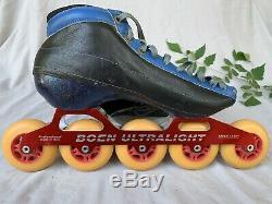 Vintage Bont Inline 5-Wheel Speed Skates, Rollerblades Women's Sz 8.5