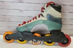 Vintage Rare Rollerblade Problade Mens Inline 5-wheel Speed Skates sz 10 1/2