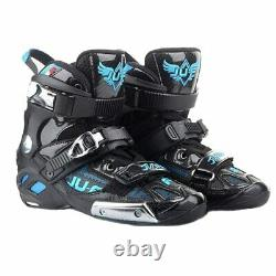 War Wolf Up Boots High Ankle Semi-solft For Slalom Patines Speed Inline Skates