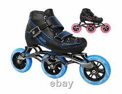 Warp Children's Inline Speed Skates Adjustable Kids Rollerblades Roller B