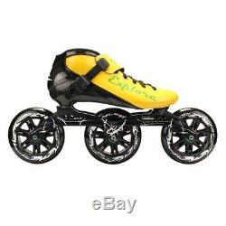 Worth! Carbon Fiberglass Inline Speed Skates Kid Adult Beginner New hand Speed