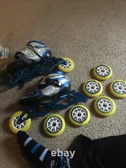 XV Inline Speed Skates Size 7 Mens (39)