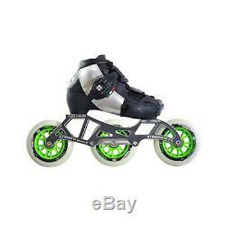 Youth Inline Speed Skates Luigino Kid's Challenge Adjustable 3 Wheel Package