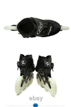 ZICO Speed Inline Roller Skates 4 Wheels Carbon Fiber Professional Racing skate